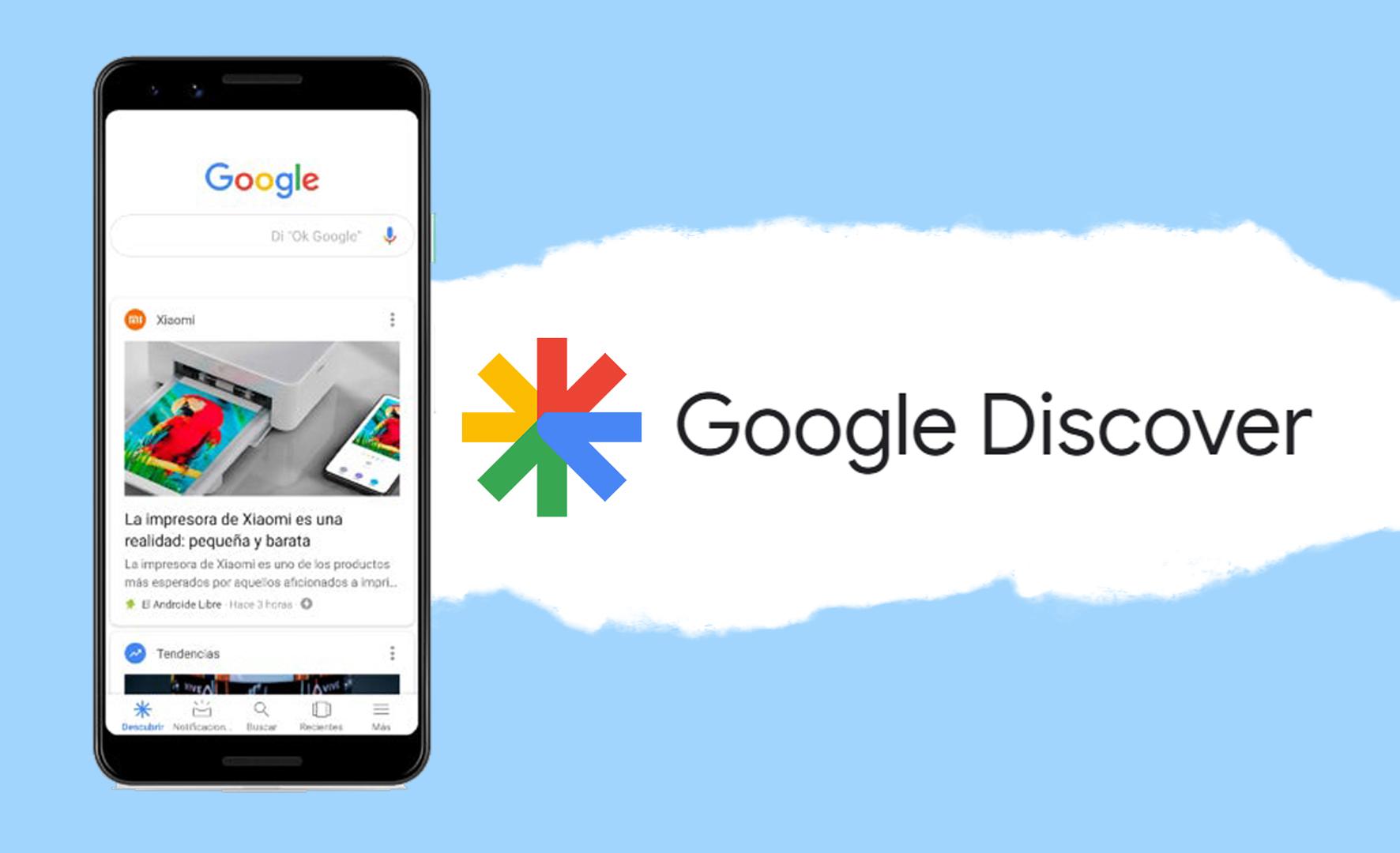 aparecer en Google Discover